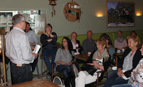 Reint Jan Zijlstra presenteert over Netwerken