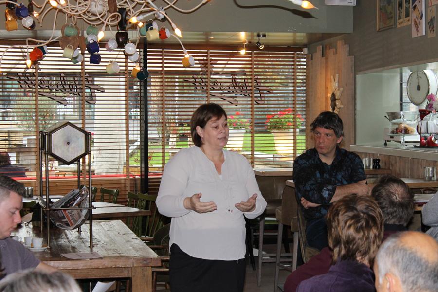 Workshop door Anita Pauwels