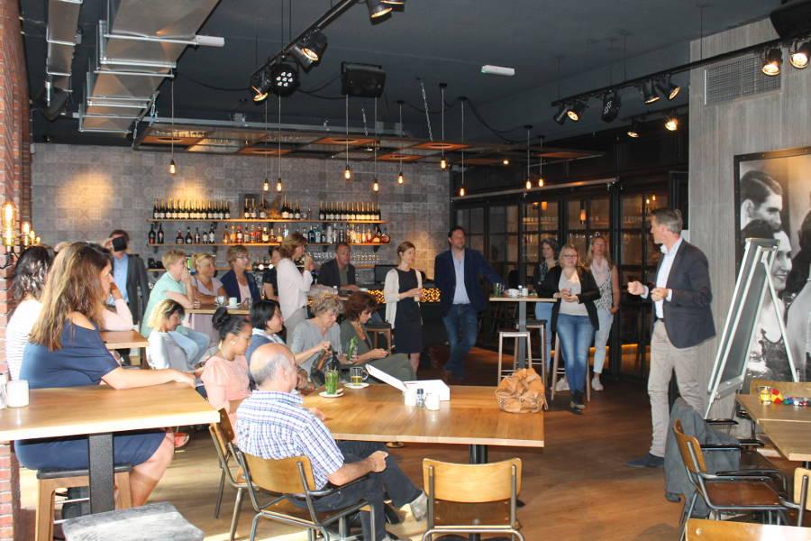 workshop tijdens Open Coffee Lansingerland