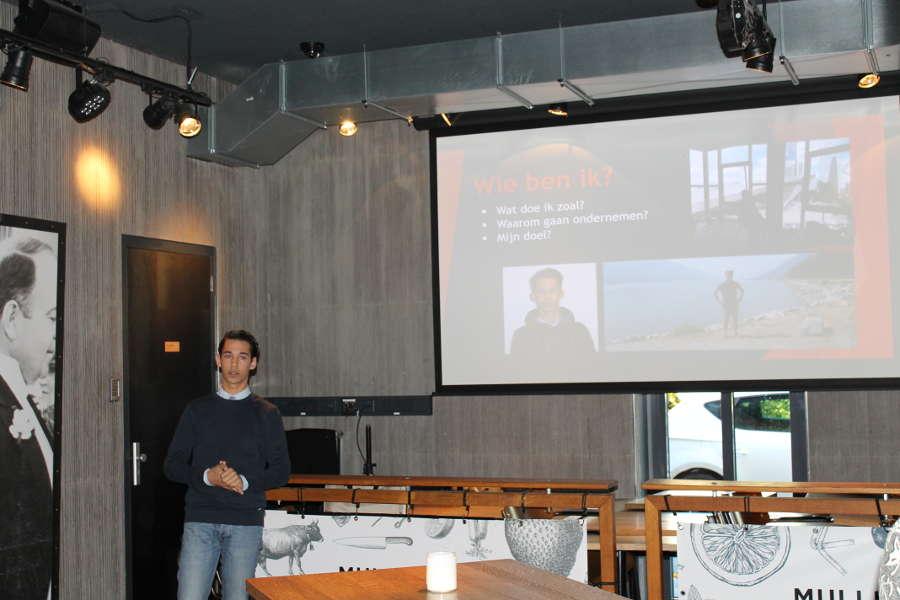 Open Coffee spreker Aron Verhoeven