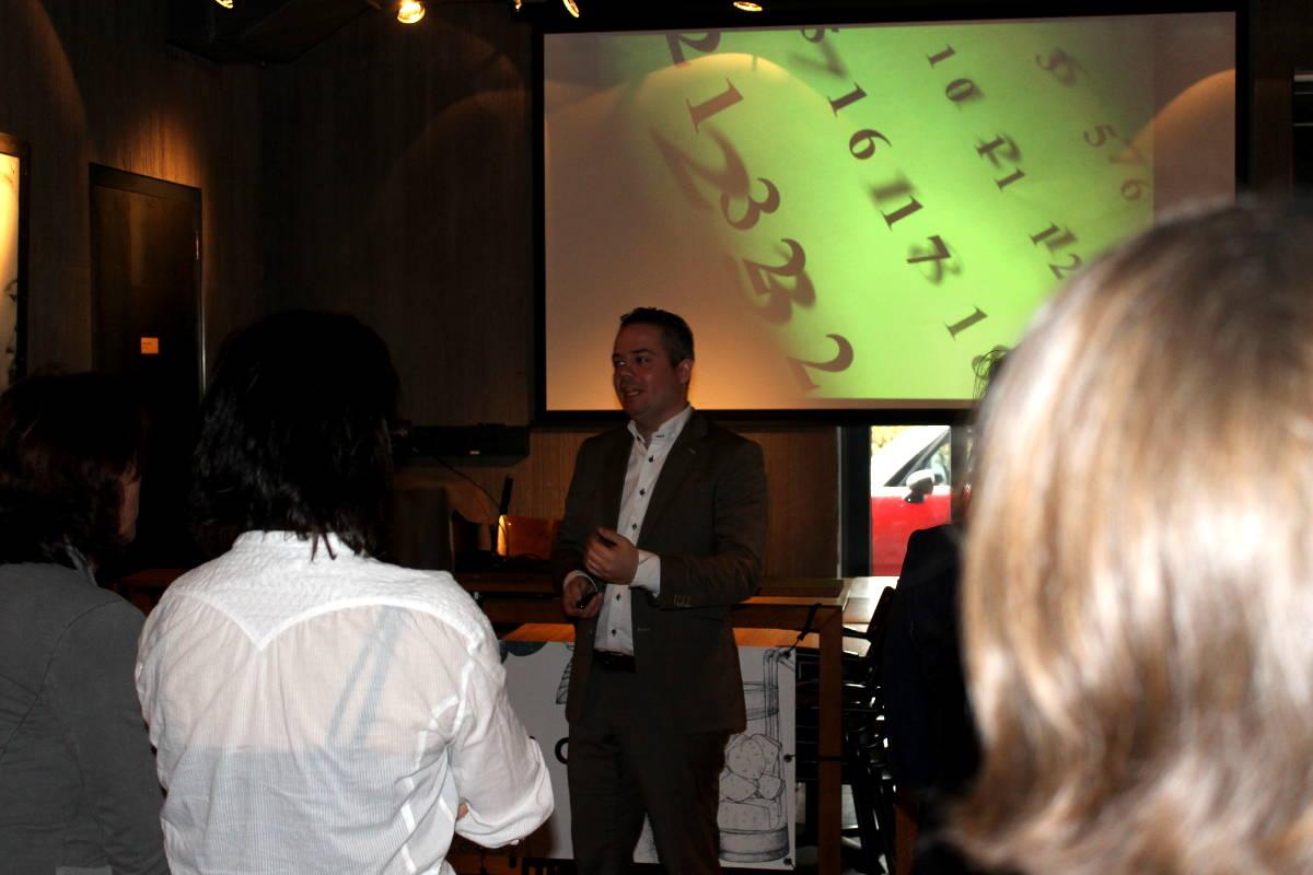 Presentatie van Harrie Lamers over LinkedIn